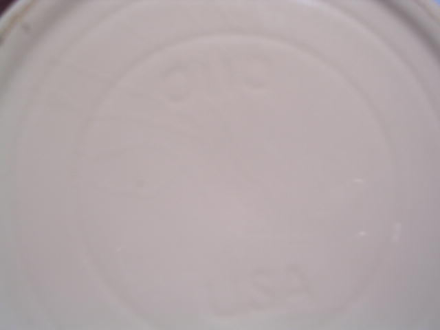 WATT # 110  BANDED  LARGE  KITCHEN QUEEN MIXING BOWL