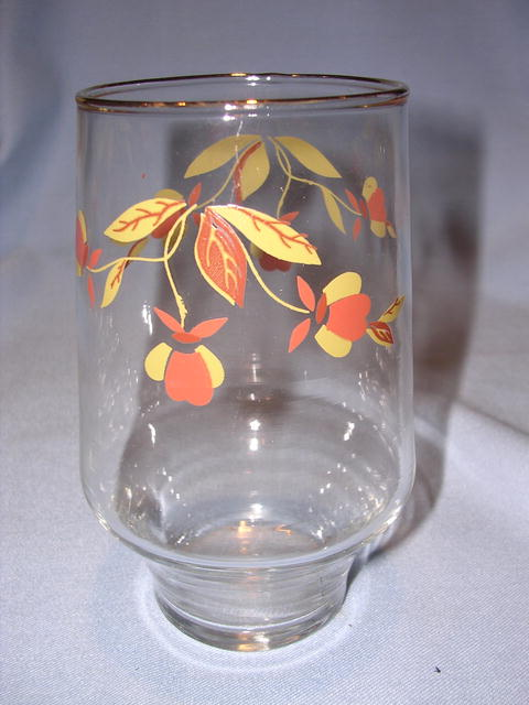 HALL AUTUMN LEAF 16 OZ TALL TUMBLER BROCKWAY