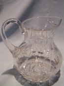 AUTHENTIC HAWKES SIGNED LEAD CRYSTAL LARGE PITCHER BEAUTIFUL