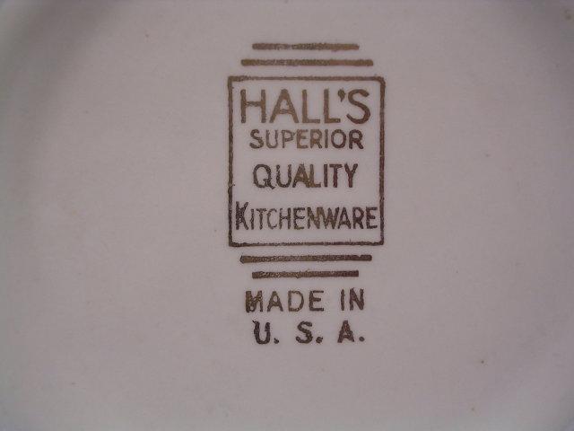 HALL'S RED POPPY RADIANCE 7 1/2 INCH BOWL