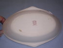 NORITAKE LUSTER WARE OVAL RELISH DISH WITH CENTER FLOWERS