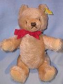 STEIFF ORIGINAL TEDDY BEIGE 10  INCH BEAR 0201/26 EAR BUTTON , AND  TAG