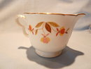 HALL AUTUMN LEAF RUFFLED CREAMER
