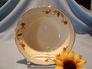 HALL AUTUMN LEAF JEWEL TEA RIMMED CEREAL BOWL