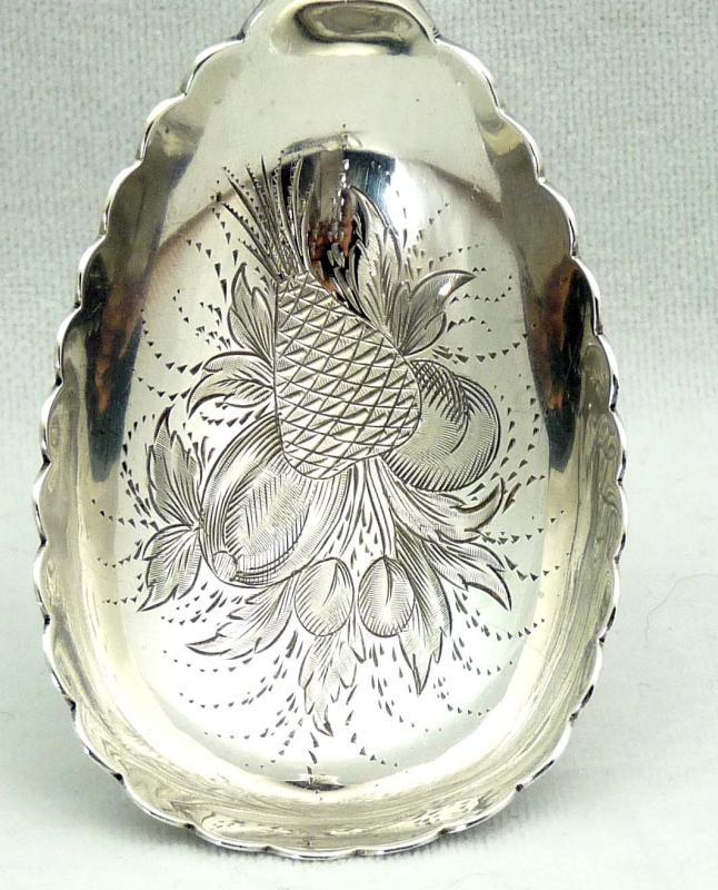 1859 GALE & WILLIS Sterling Silver 5 Pc. Dessert Set