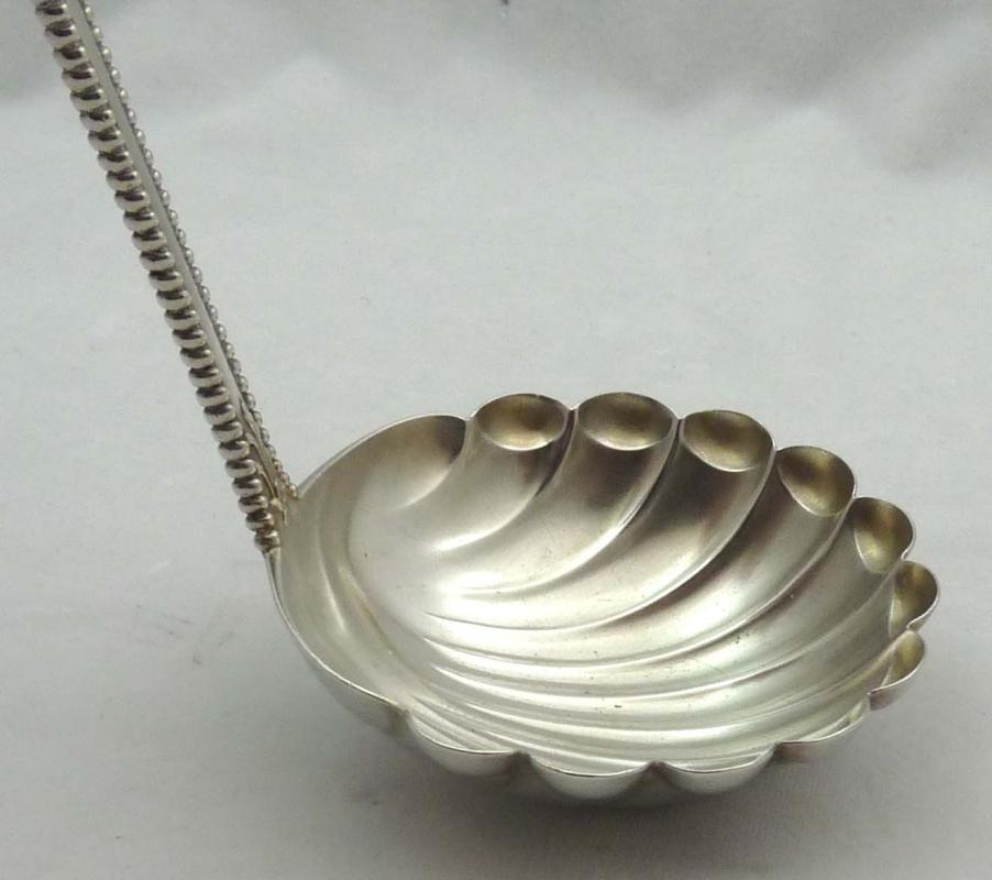 DOMINICK & HAFF Sterling Silver CHARLES II Oyster Ladle