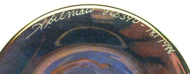 Signd 1988 ABELMAN Art Glass 10