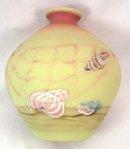 Artist Sg Fenton CONNOISSEUR BURMESE SEASHELL 8808 Vase
