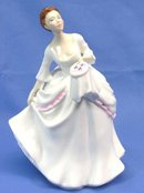 1981 Royal Doulton CAROL Figurine of Year HN 2961