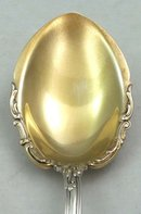 Gorham HANOVER Sterling Silver PUDDING SERVING SPOON
