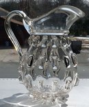 RARE EAPG CLEAT CLEATS Water Pitcher c. 1850's