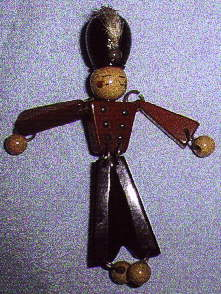 Bakelite Toy Soldier Brooch