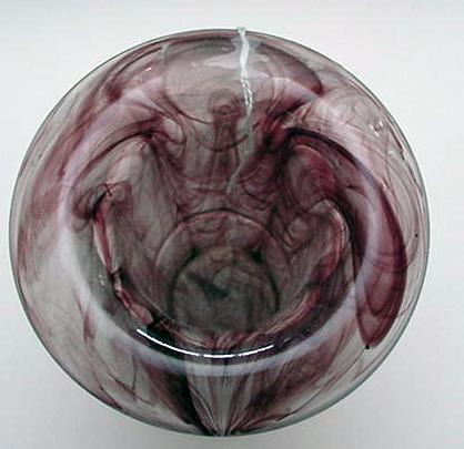 Davidson's Cloud Glass Vase