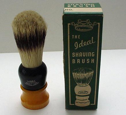 Bakelite Shaving Brush in Original Box