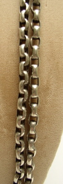 Victorian sterling long chain