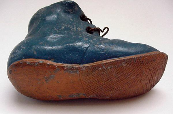 Victorian Shoe Match Striker