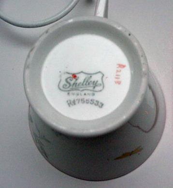 Shelley Mode Deco Tea Set