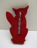 Bakelite Vintage Fox Brooch
