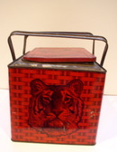 Advertising Tiger Chewing  Tobacco tin Lunch