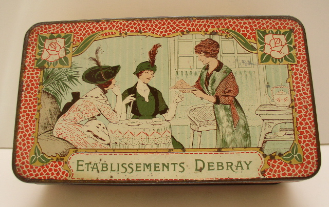 French Biscuit Advertising Tin