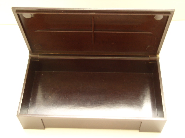 Bakelite Vintage English Cigarette Box