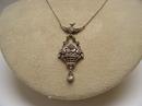 Victorian Sterling Esprit Necklace