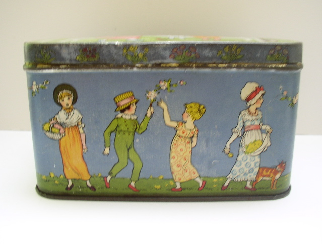 Kate Greenaway Biscuit Tin