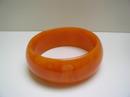 Bakelite Vintage Orange Bangle