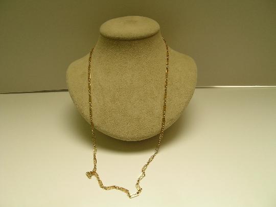 Victorian Declicate 18ct gold chain