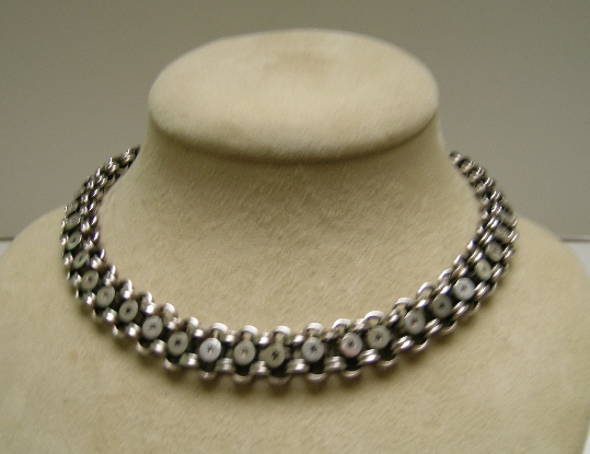 Victorian Sterling Reversible Necklace