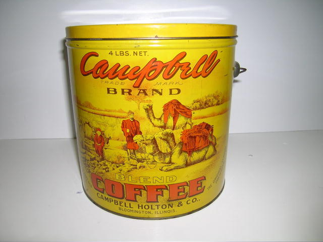 Vintage Campbell Brand Coffee tin