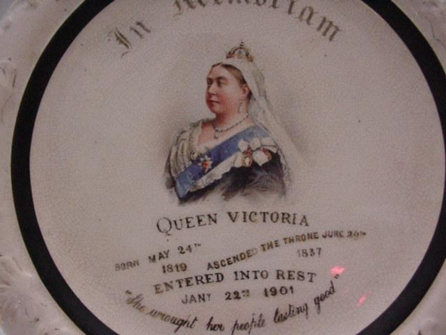 Commemorative: Queen Victoria Memorial Plaque