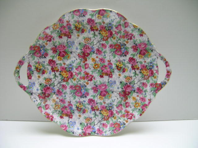 Royal Albert  Chintz Serving Plate with Two Handles