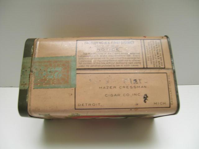 Vintage Tennyson Cigar Tin