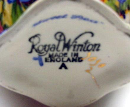 RWC Royal Winton Chintz Vintage Sweet Pea