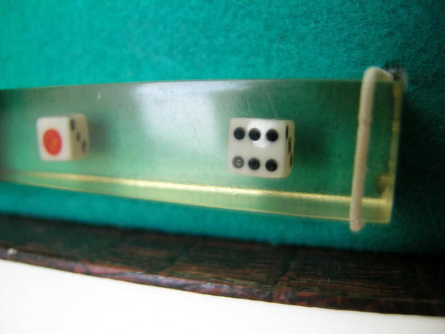 English Deco Dice Bar Set
