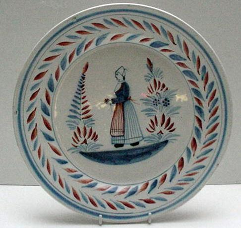 Quimper Early Large Plate