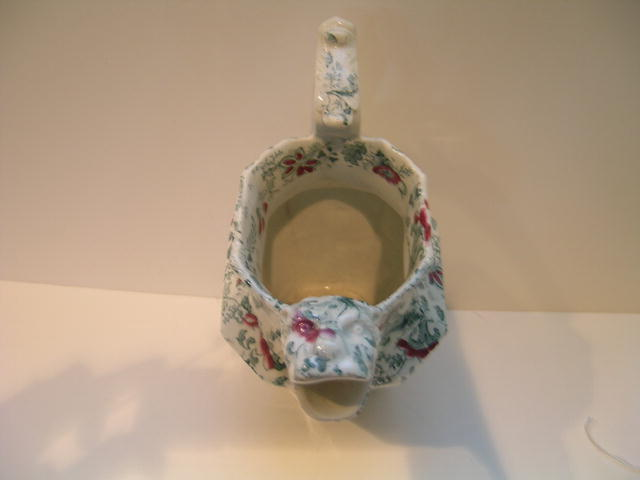 Victorian Chintz Pitcher with Tiger Spout