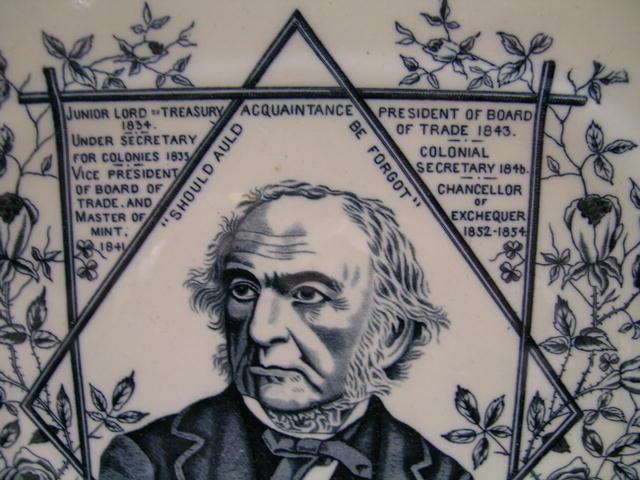 Prime Minister Gladstone Plate