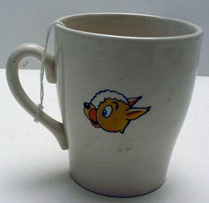 Child's Cup: Larry Lamb