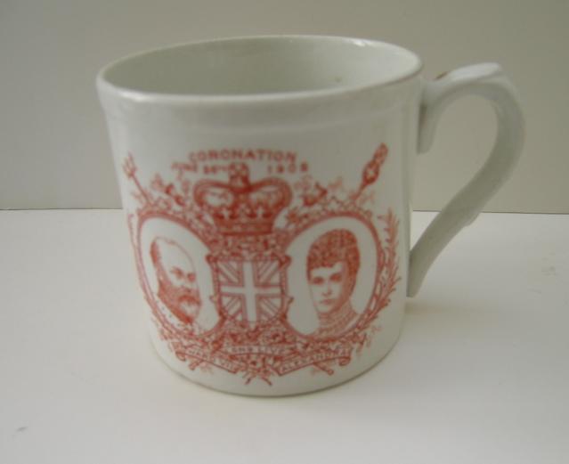 Foley China Edward VII Coronation Jug