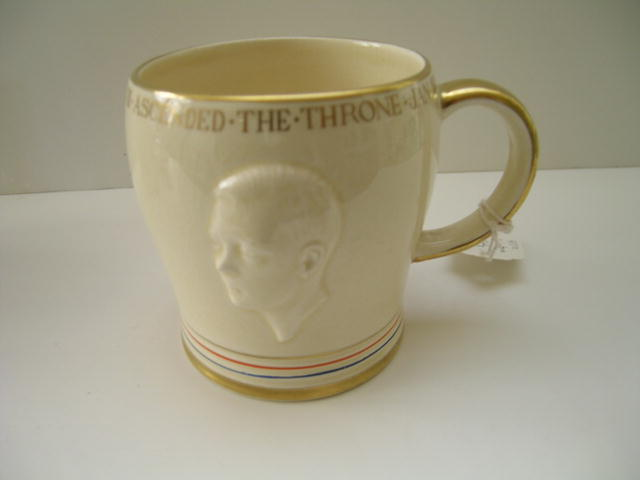 Edward VIII Coronation and Abdication Mug