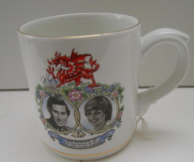 Prince Charles & Diana Mug