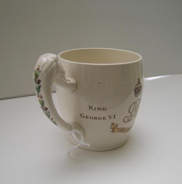King George VI Coronation Mug