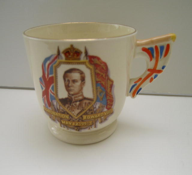 Edward VIII Deco Coronation Mug