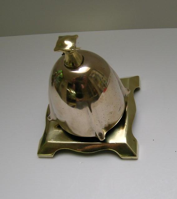 Delightful English Art Nouveau Desk Bell