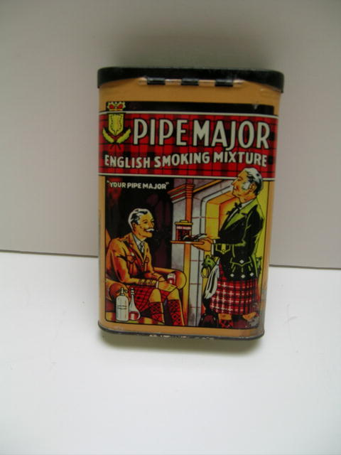 Pipe Major English smoking Mixture Tin