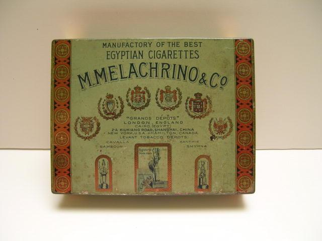 M.Melachrino & Co. Egyptian Cigarettes Tin