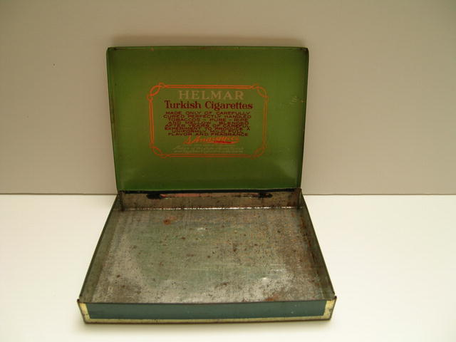 Helmar Turkish Cigarettes Tin