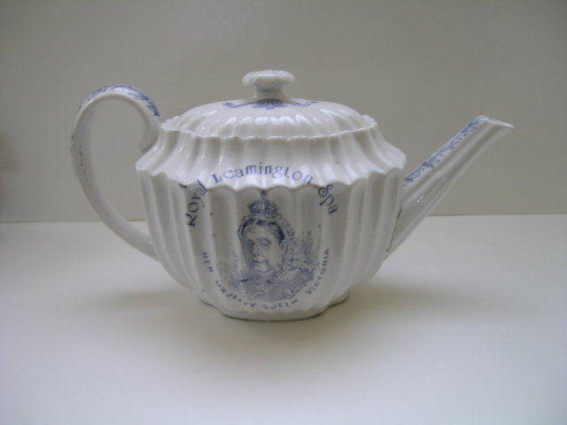 Queen Victoria's Jubilee Royal Leamington Spa Teapot